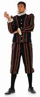 MENS BLACKADDER BOOK WEEK TUDOR MEDIEVAL FANCY DRESS COSTUME OUTFIT NEW M L XL