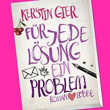 KERSTIN GIER | Für jede Lösung ein Problem | Roman (Buch)