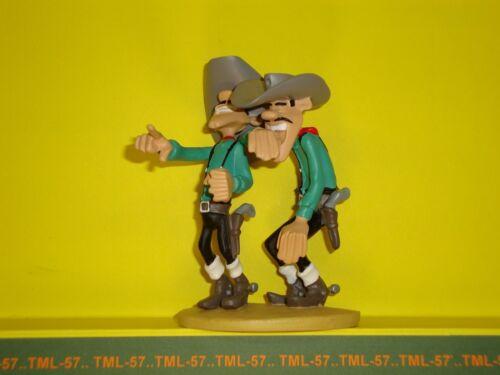 Figurine Atlas LUCKY LUKE 2003 d'après Marie LEBLON - Jack & Averell DALTON