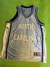 UNC Tar Heels Basketball Jersey Large Blue North Carolina Tar Heels By Starter