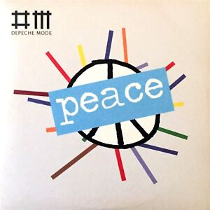CD-SINGLE-PROMO-DEPECHE-MODE-PEACE-RARE-CARDBOARD-SLEEVE-COLLECTOR-COMME-NEUF