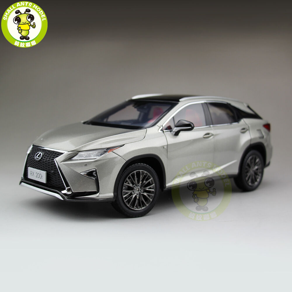 1 18 Toyota Lexus RX 200T RX200T Diecast Model Car Suv hobby collection Gifts
