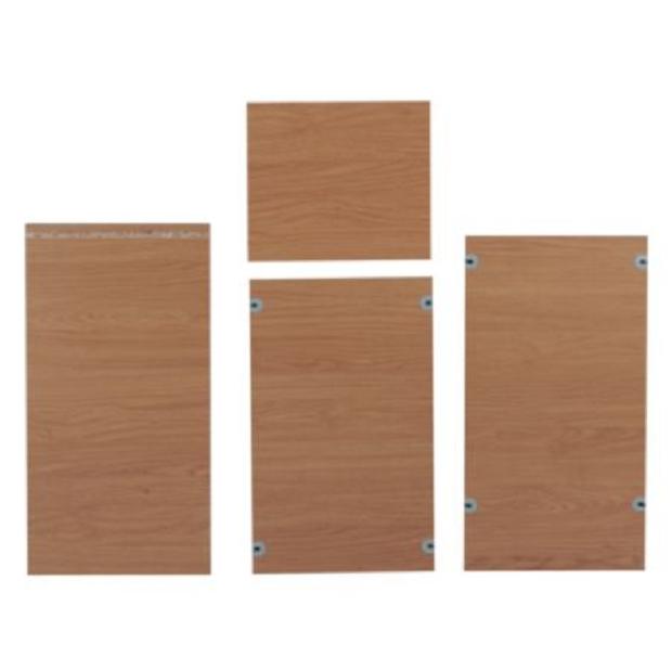 B Q Kitchen Cabinets Sale: Kitchen Unit Cabinet B&Q Larder Side PANLES White Style 1