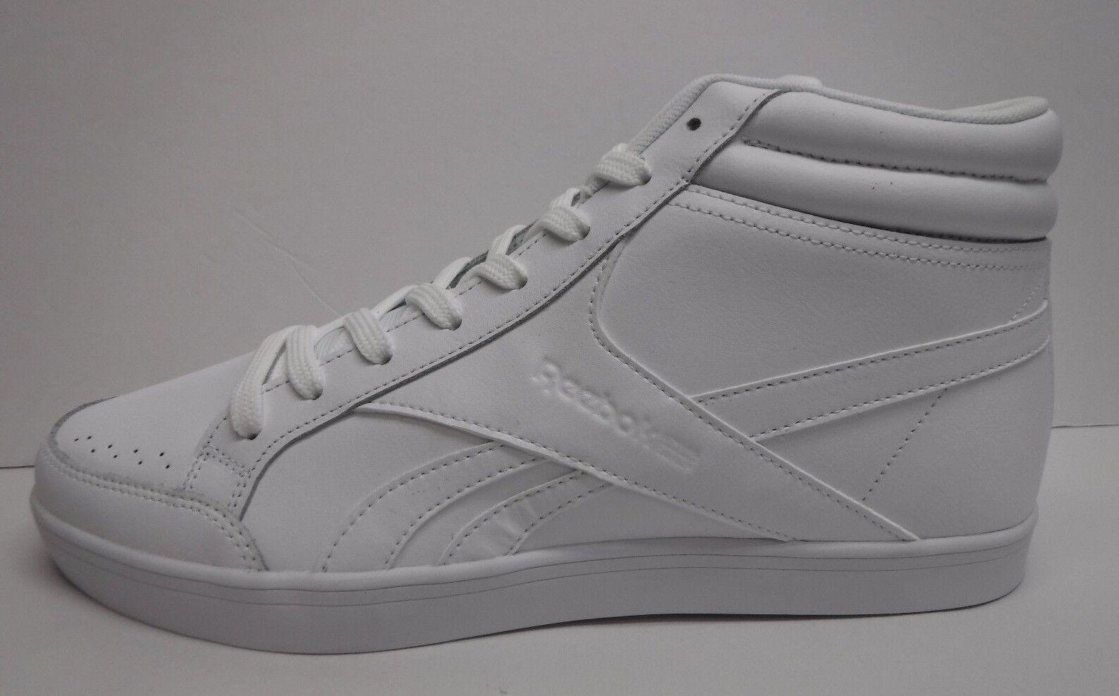 Reebok Dimensione 10.5 10.5 10.5 bianca High Top scarpe da ginnastica New donna scarpe c3e9c1