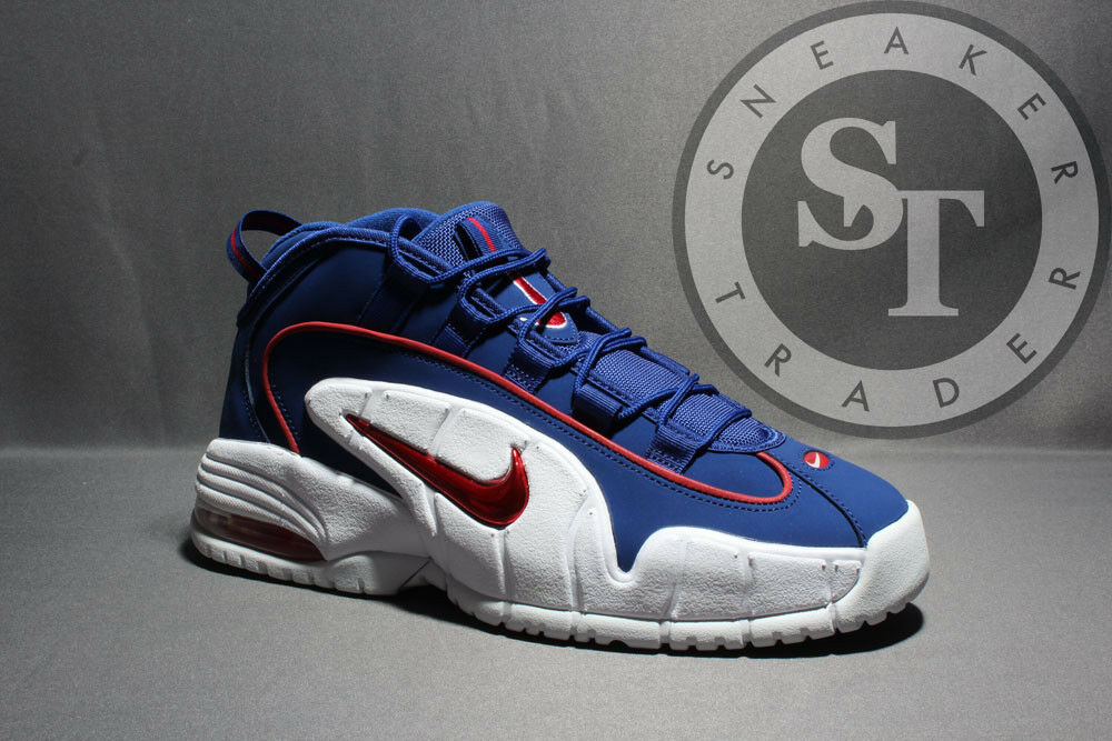 NIKE AIR MAX PENNY 685153-400 ROYAL BLUE RED WHITE DS SIZE: 11.5