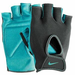 NIKE-Short-Finger-Training-Gloves-Mens-Women-039-s-Gym-Crossfit-Workout-Fitness-NEW