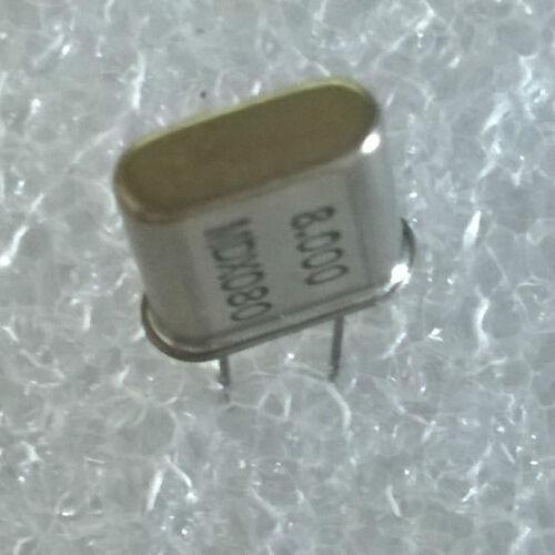 KONY ou COPELEC LOT DE 2 QUARTZ MDX080 8 MHz