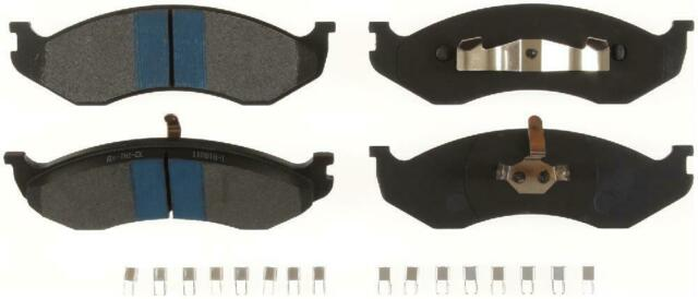 Disc Brake Pad Set-TitaniuMetallic II Disc Brake Pad Front fits Grand Cherokee
