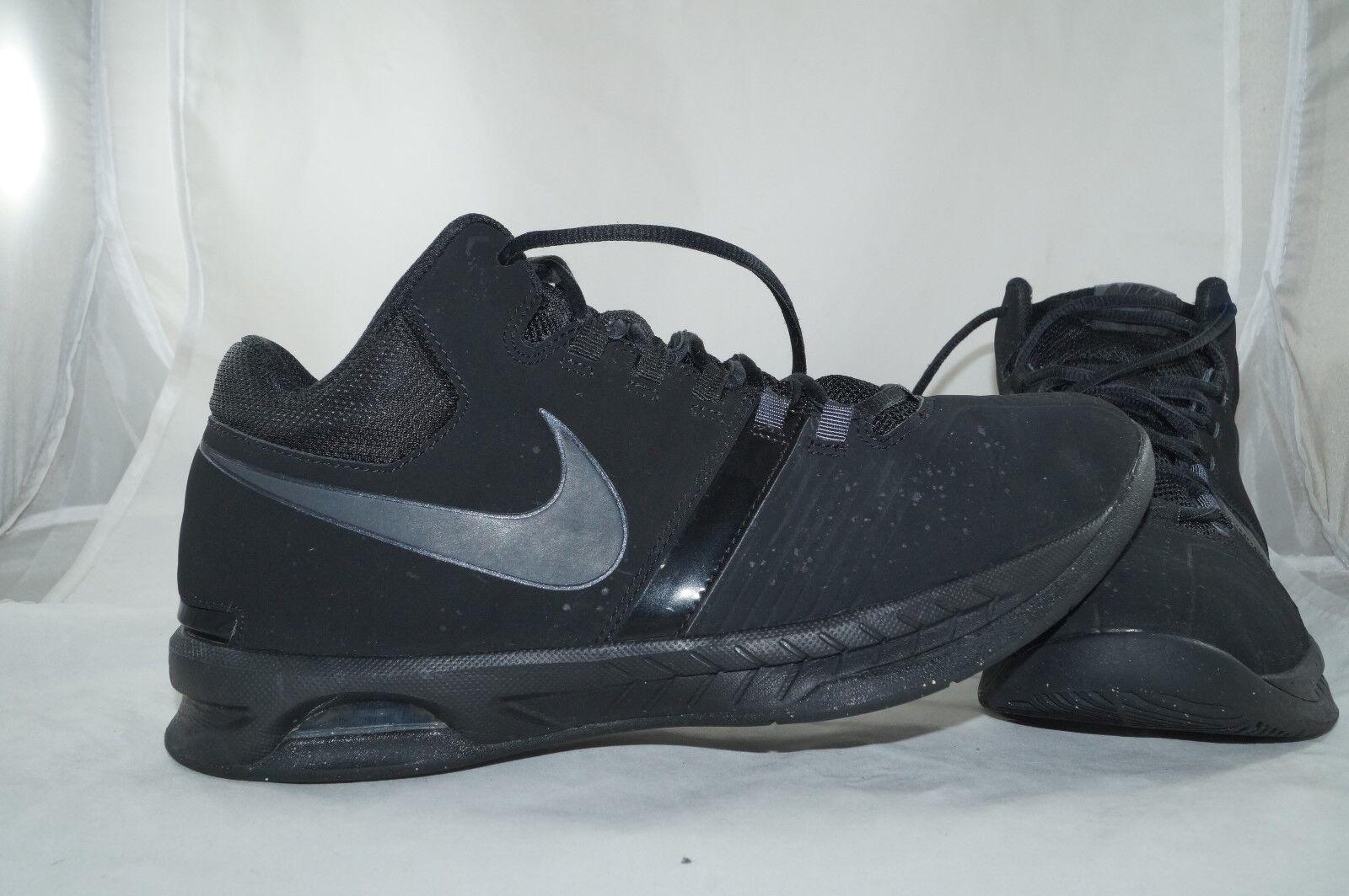 Nike Air Visi Pro V High Tops Gr  43 MID Basketball Sportschuhe Schwarz
