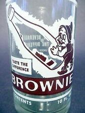 vintage ACL Soda Bottle: BROWNIE of DORAVILLE, GA - 10 oz VINTAGE ACL