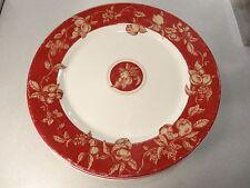 """Set of 4 Waverly Garden Room Fruit Toile Dinner Plates  11"""""""