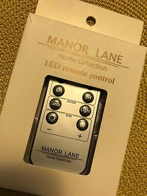 Manor Lane Shimmer Lights Led Remote Battery Timer Flicker