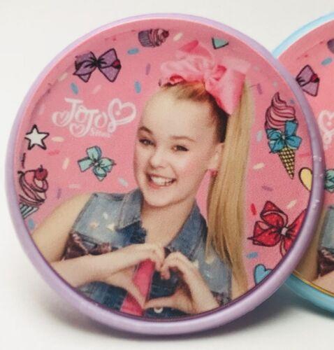 24 pcs Jojo Siwa Cupcake Toppers Rings Birthday Party Favors