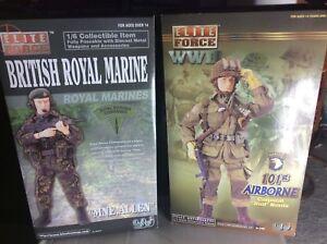 2 figurines très rares au 1/6 de la Force d'élite