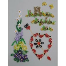 COMPLETE QUILLING KIT WITH TOOL + PAPER + INSTRUCTIONS SPRING CARDS 2 KD 18