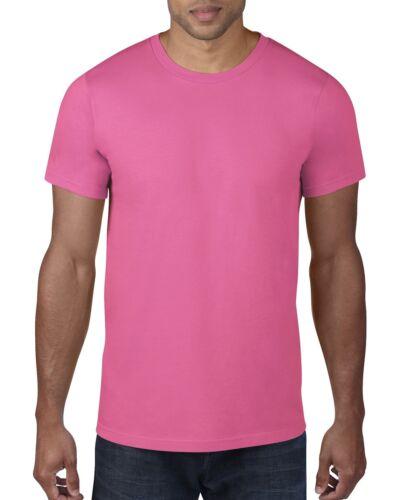 Anvil Mens Neon Hi Vis Tee T Shirt Fluorescent Bright Party Fancy Dress 80s 80/'s