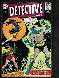 Detective Comics #336 ~ (1964)  Batman & Robin / Bewitched nightmare ~ (5.0) WH