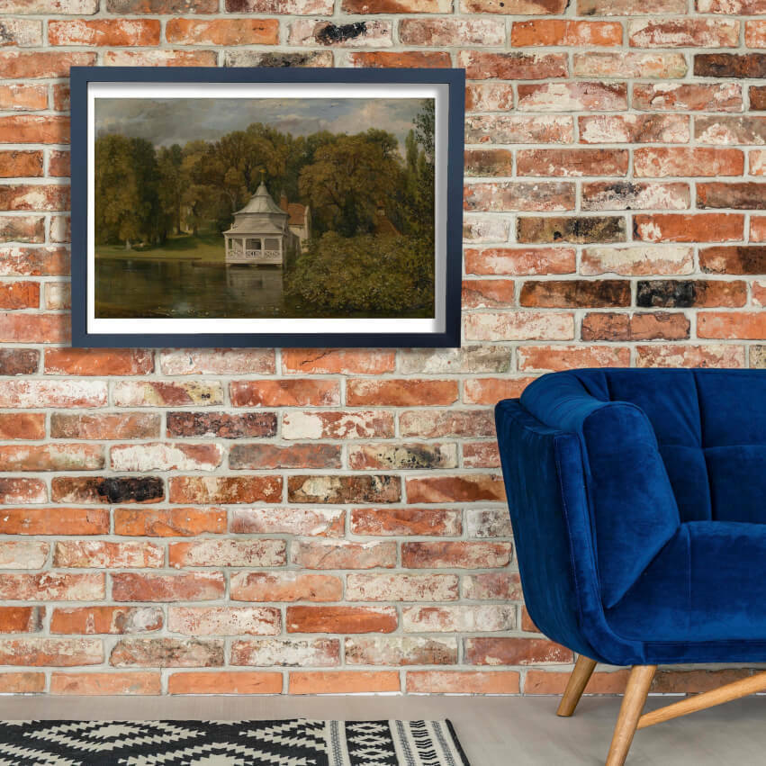 John Constable - The Quarters behind Alresford Hall Wall Art Poster Print