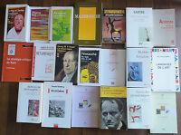 Important Lot 20 Livres Philosophie. Vintage Philosophy Books.