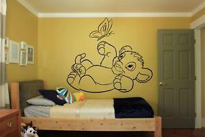 Details About Vinyl Wall Decal Sticker Decor Nursery Lion King Simba Disney Cartoon O213
