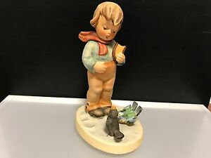 Hummel-Figurine-300-034-Animal-Lover-034-5-1-8in-First-Choice-Top-Condition