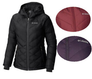 dc3dd092132 Image is loading NEW-Columbia-Women-HEAVENLY-Hooded-Jacket-XS-S-M-L-