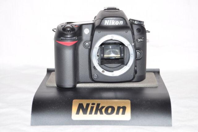 Superb Modifié Nikon D80 10MP Numérique SLR Corps - Bas S C + Garantie 4fda58da77af