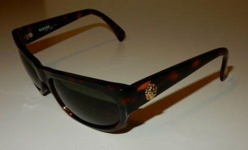 Vintage Versus Versace Brown Sunglasses E05 649 L… - image 1