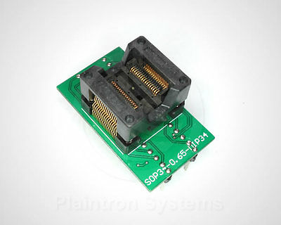 IC-Fassung SMD-Adapter SSOP34 0,65mm (5,3mm) auf DIP34 Testsockel Programmer
