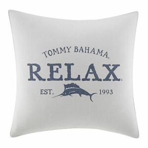 "Tommy Bahama 221199 Raw Coast Relax 20"" Dec Pillow,Natural<wbr/>,20x20"