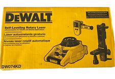 Dewalt Dw074kd Heavy Duty Self Leveling Interiorexterior Rotary Laser