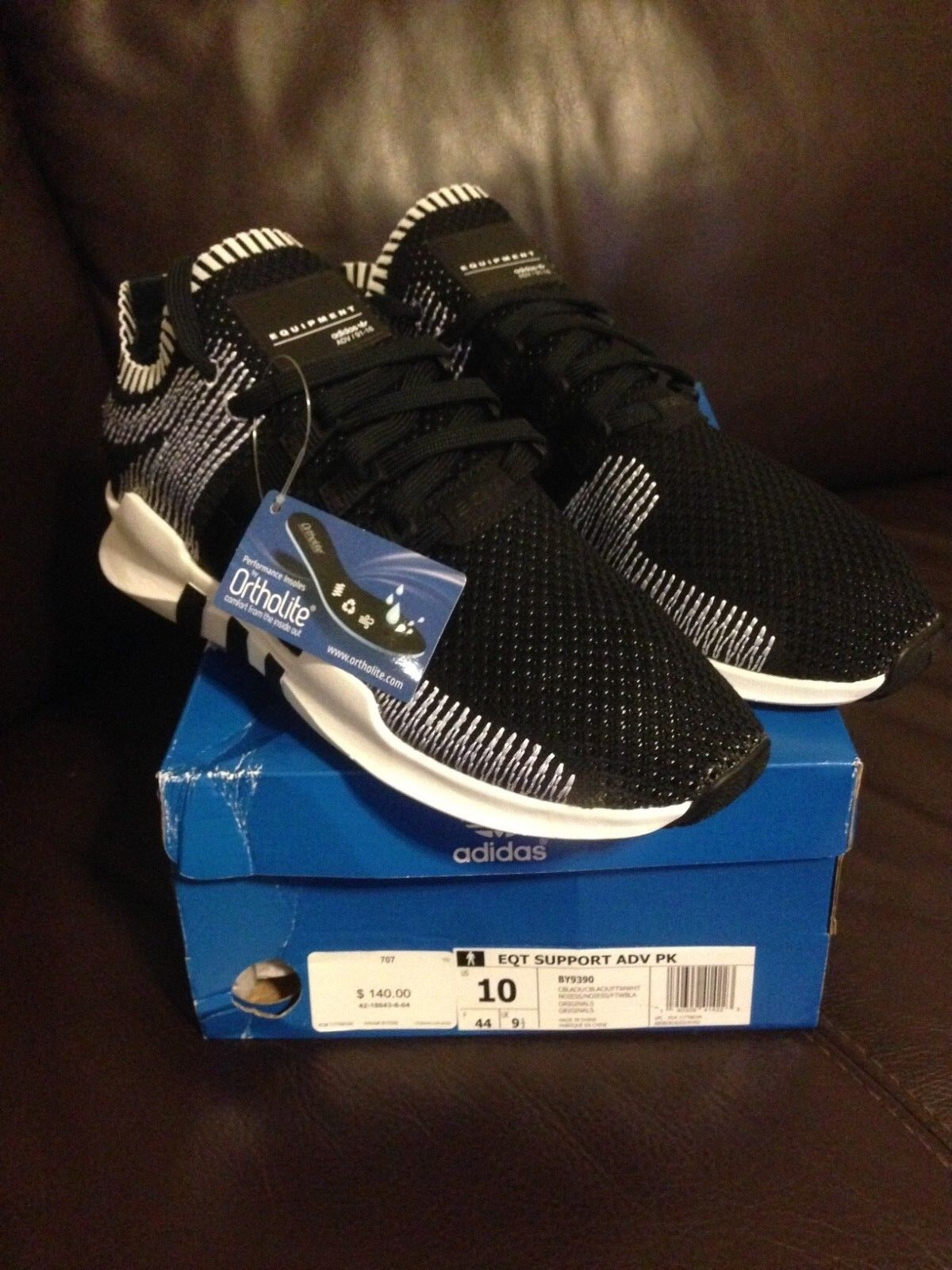 Adidas Originals Equipment Support EQT EQT EQT ADV PK nero Whte Running New Uomo BY9390 554005