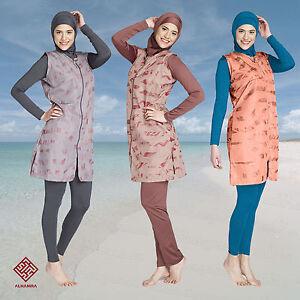 AlHamra-Full-Cover-Burkini-Modest-Women-Swimsuit-Swimwear-Muslim-Islamic