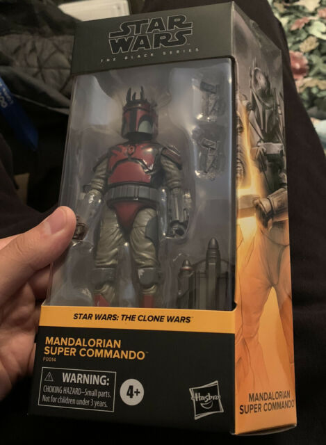 Star Wars Black Series Mandalorian Super Commando