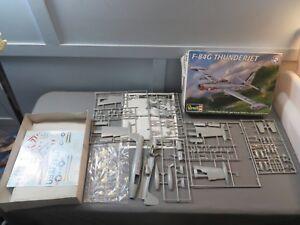 Revell-1-48-F-84G-Thunderjet-Model-Kit-Open-Box-85-5481