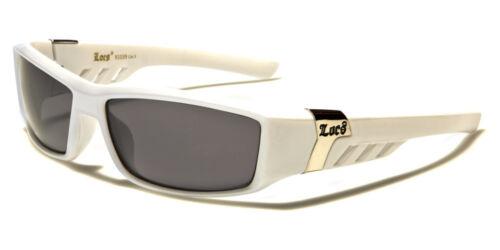 NEW Black White Locs Rectangle Dark Lenses Men/'s Gangster Sunglasses UV400