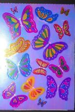 🦁Sandylion BIG Schmetterlinge pearly glänzend  Scrapbooking Sticker 🦁