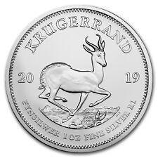 2019 South Africa 1 oz Silver Krugerrand BU - SKU#178077