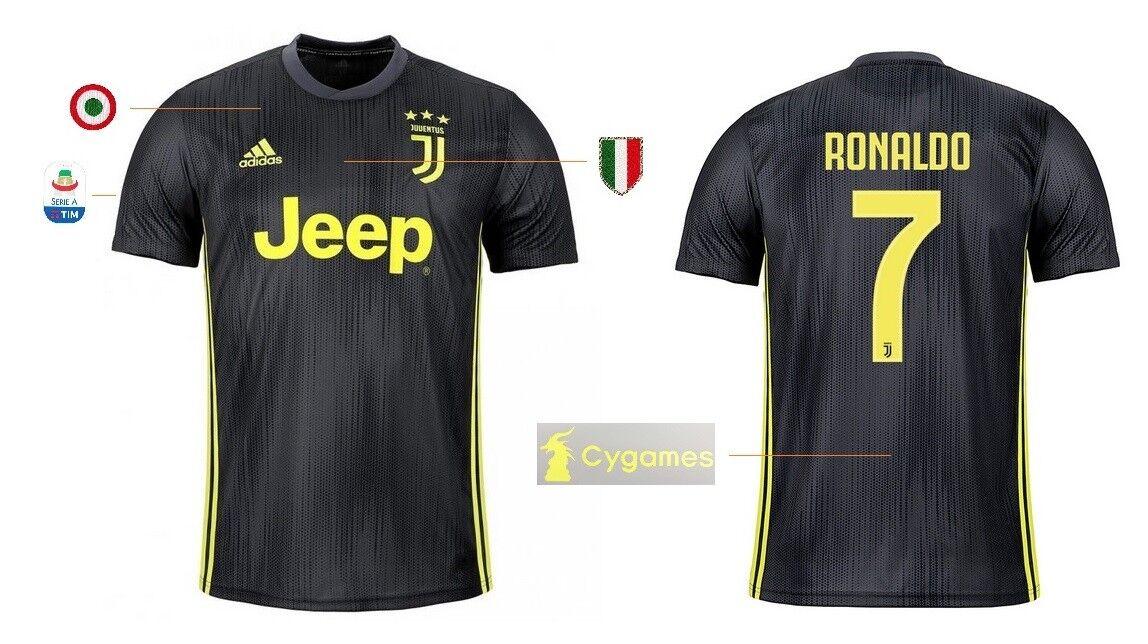 Trikot Adidas Juventus 2018-2019 Third Serie A - Ronaldo 7  Cygames