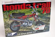 MPC 1/8  HONDA TRAIL 70 PLASTIC MODEL KIT MPC 833 #833 Minibike