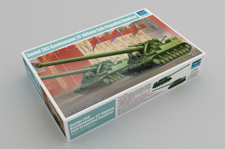 Trumpeter 1 35 09529 Soviet 2A3 Kondensator 2P 406mm Self-Propelled Howitzer