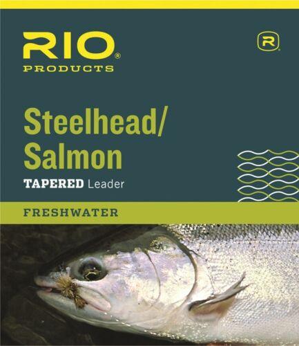 environ 4.54 kg environ 2.74 m 10 lb Rio 3-Pack Steelhead//Salmon 9 ft conique Nylon Pêche à la mouche les dirigeants