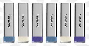 6-CoverGirl-Exhibitionist-Metallic-Lipstick-Deeper-Razzle-Dazzle-amp-Steal-12-OZ
