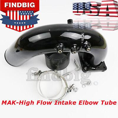 NEW High Flow Intake Elbow Tube For 98.5-02 Dodge Ram 5.9L Cummins Diesel Black