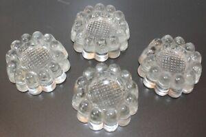 Dessous de Pieds en verre pour table - 4 exemplaires
