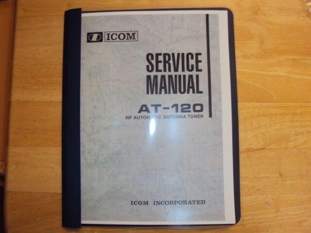 Icom Antenna Tuner Automatic At-120 Service Manual Copy