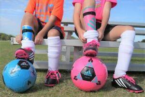 Football Club Slip On Shinpads Kids Youth /& Boys Protection Shin Pads Guards @JU