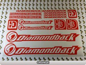 DIAMONDBACK Stickers Decals Bicycles Bikes Cycles Frames Forks Mountain BMX 57B