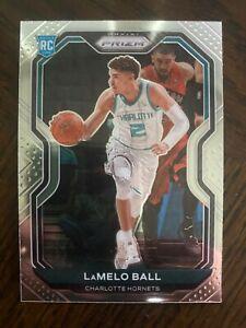 LAMELO BALL 2020-21 Panini Prizm Base Rookie RC #278  Charlotte Hornets