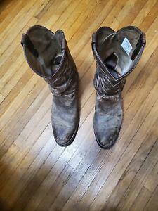 Mens Double H Western Cowboy Boots Size 10.5